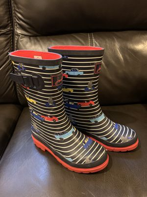 Joules Rain Boots - US Size 3 For Kids for Sale in Hialeah, FL