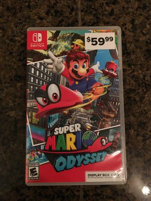 Super Mario Odyssey for Sale in Everett, WA