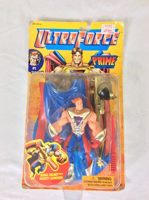 1995 Ultraforce Prime Action Figure Galoob #1 New In Packaging for Sale in Severn, MD