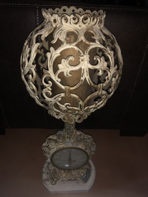 Antique lamp and clock for Sale in Round Rock, TX