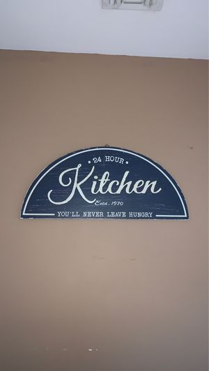 Kitchen Decor Sign for Sale in Bethpage, NY