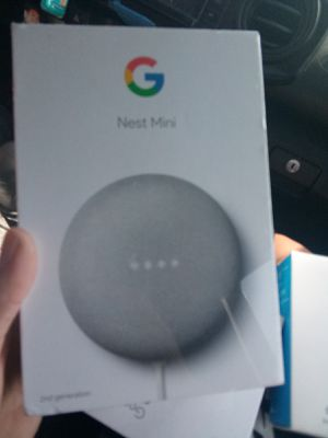 Google Nest Mini with Google chromecast for Sale in Santee, CA