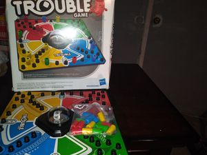 Trouble the board game for Sale in Fredericksburg, VA