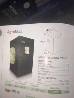 Indoor growing hydroponic set for Sale in Aurora, CO