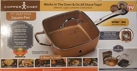 Copper Chef deep dish pan for Sale in New Smyrna Beach,  FL