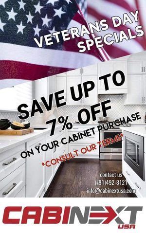 BIG SAVINGS ON KITCHEN CABINETS! VETERANS DAY DISCOUNT! for Sale in Marlborough, MA