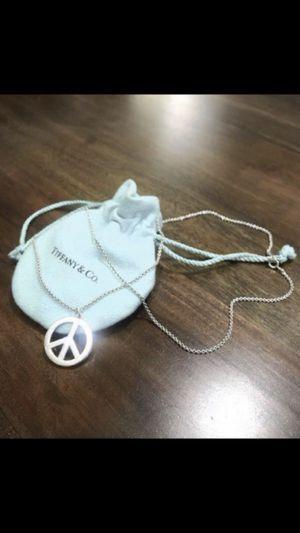 Tiffany & Co. Paloma Picasso peace sign 925 sterling silver/RARE for Sale in Palo Alto, CA