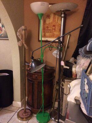 Floor lamps $15 ea for Sale in Cooper City, FL