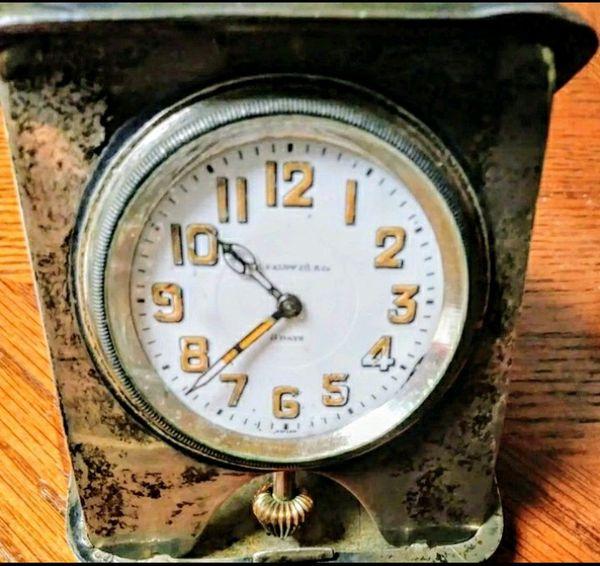 Vintage J.E. Caldwell Travel Clock