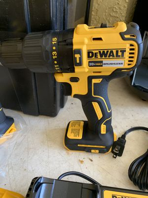Brand new dewalt brushless hammer drill tool only firm price for Sale in Plant City, FL