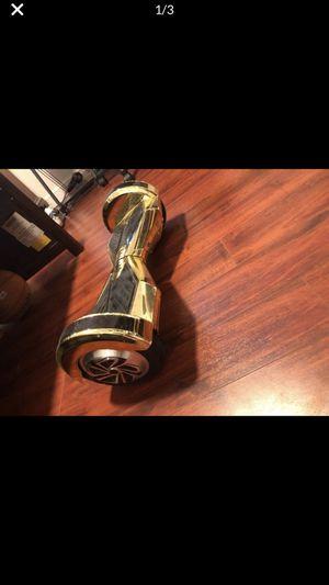 Gold hoverboard for Sale in Margate, FL