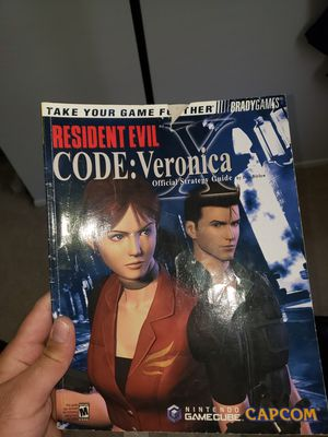 Resident Evil code: veronica x officially strategy guide for Sale in Bowie, MD