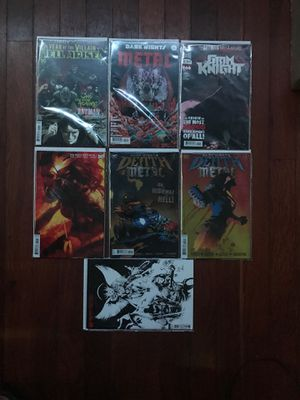 DC Comics Death Metal/Dark Knights Metal/Hell Arisen for Sale in Richmond, CA