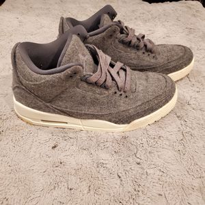 Jordan retro 3 wool for Sale in Richardson, TX
