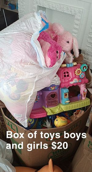 Box of toys for Sale in Oklahoma City, OK