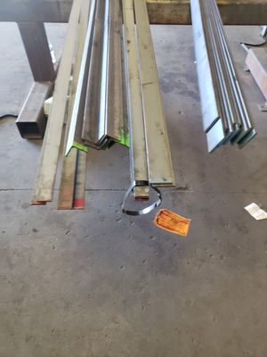 Metal sale!!! 5ea-2x2x3/16 angle, 1/4x2 fb, 3/16x 2 1/2 fb, 3/8x3 fb, 3/8x 1 1/4 fb and 1/2 round bar 2 1/2x 1/2 angle! Only $340 if bought today 1/18 for Sale in Modesto, CA