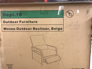 Milano enhanced gaming chair keep yourself in the game regular price is 2 4999 on sale $200 it's brand-new open box 2nd I am over in outdoor recliner for Sale in Parma Heights, OH