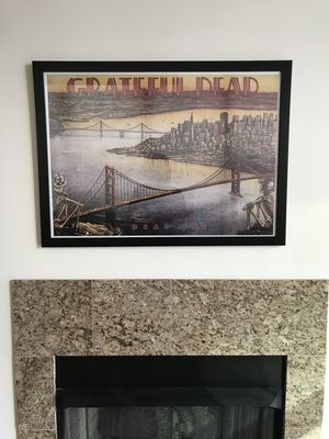 Framed Grateful Dead Picture for Sale in Chicago, IL