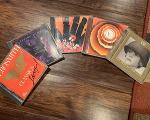 155 CDs from Aerosmith to U2 and everything in between for Sale in Homer Glen, IL