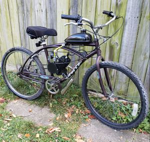 "Custom 80cc 26"" Huffy ""Sana Fe"" Rugged Motorized Beach Cruiser (over 35mph) for Sale in Chicago, IL"