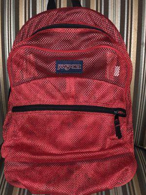 Jansport mesh backpack for Sale in Austin, TX