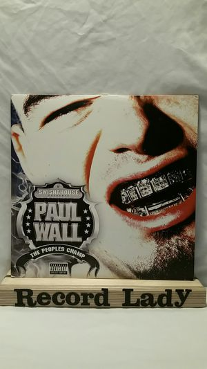 """Paul Wall """"The People's Champ"""" 2XLP vinyl records hip-hop / rap for Sale in San Diego, CA"""