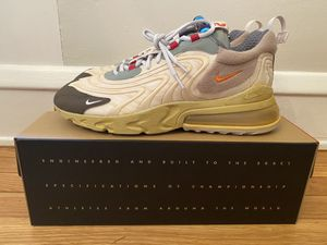 Nike AirMax 270 React ENG Travis Scott Cactus Trails (size 12) for Sale in Cleveland Heights, OH