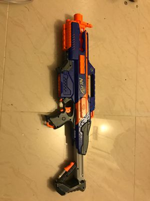 Rapid strike nerf gun with clip for Sale in Pembroke Pines, FL