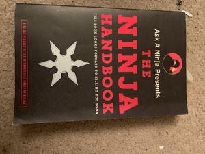 """The Ninja Handbook"" by Ask A Ninja for Sale in Huntington Beach, CA"