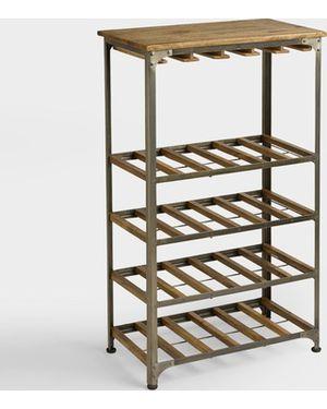 World Market Bar Cart / Wine Rack for Sale in MARTINS ADD, MD