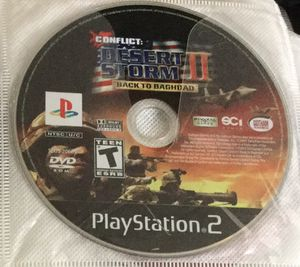 Conflict desert storm 2 for ps2 for Sale in Houston, TX