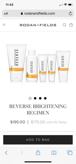 Rodan + Fields reverse regimen - new in box for Sale in Santa Paula, CA