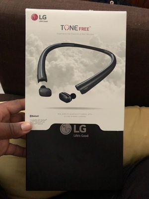 Bluetooth headphones LG TONE FREE for Sale in Philadelphia, PA