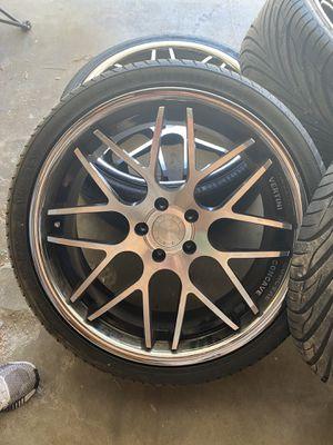 Vertini concave rims with tires for Sale in Brea, CA