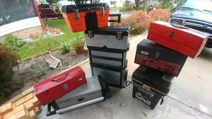 7 tool boxes for Sale in Winter Haven, FL