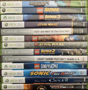Xbox 360 games for Sale in Rancho Cucamonga, CA