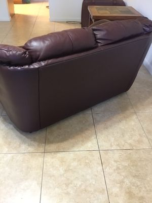 Leather couch for Sale in Lake Placid, FL