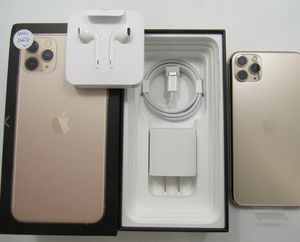 Open Box Apple iPhone 11 Pro Max A2161 Gold Unlocked 256GB Clean IMEI -BT6180 for Sale in Dunning, NE