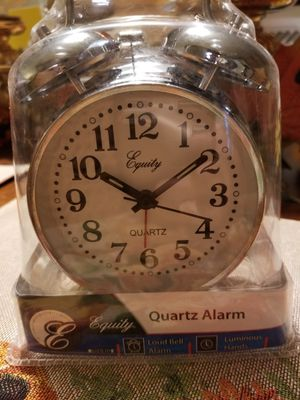 NEW Equity Quartz Twin Bell Alarm Clock for Sale in Lexington, KY