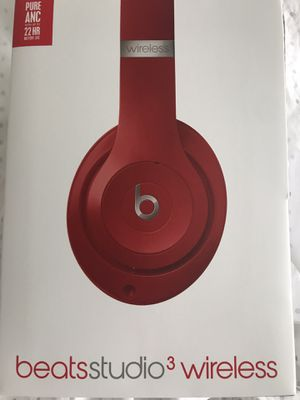 NEW in box. Beats studio 3 wireless . Color red. for Sale in Katy, TX