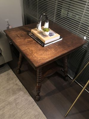 Antique Wood Side Table for Sale in Washington, DC
