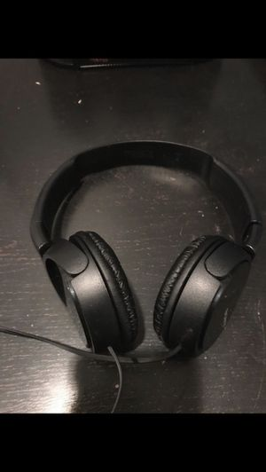 Sony Headphones Black for Sale in Fort Lauderdale, FL