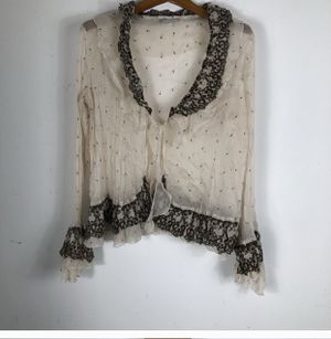 VINTAGE ROBERTO MAKALI OPEN FRONT CARDIGAN SZ XL for Sale in Kissimmee, FL