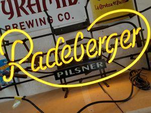 Neon Light Radeberger Pilsner for Sale in Hayward, CA