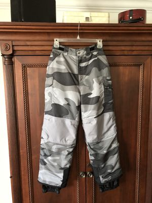Youth size large warm winter ski/snowboard pants excellent condition in Weston for Sale in Weston, FL