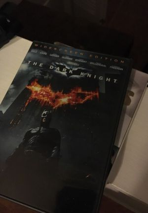 Dark Knight DVD for Sale in Wichita Falls, TX