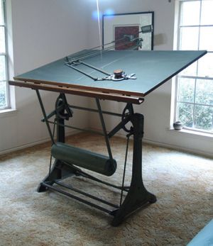 Antique drafting table for Sale in Los Angeles, CA
