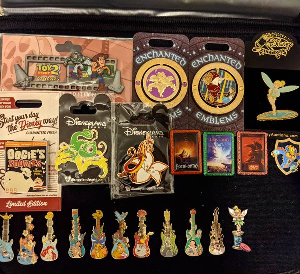 Disney Authentic And Fantasy Pins