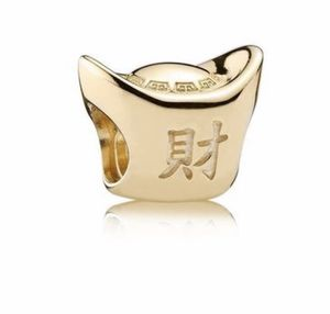 Authentic Pandora solid 14kt gold charm. for Sale in Auburn, WA