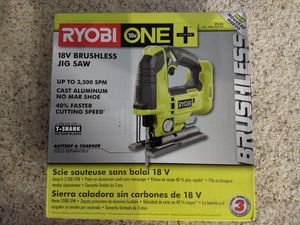 RYOBI 18V Brushless Jig Saw (bare tool) P524 - New for Sale in Portland, OR